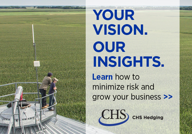 CHS Hedging - Your Vision. Our Insights. Click to Learn More.