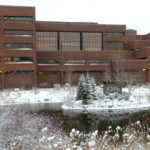 CHS office in winter